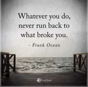 Quote of the Day by Frank Ocean andPinterest