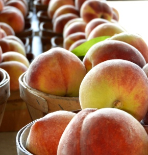 Stress Relief….Eating Peaches