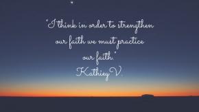 Morning Motivation…Fear &Faith
