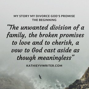 My Story My Divorce God's Promise. Book Quote